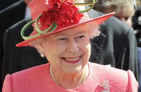 Erzsébet királynő Downton Abbey