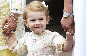 Estelle hercegnő legcukibb fotói