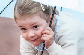 Estelle hercegnő Viktória hercegnő születésnap fotók