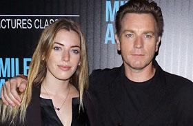 Ewan McGregor lánya