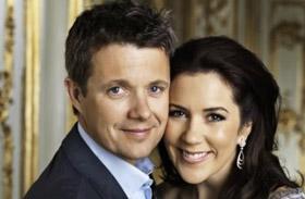 Frigyes dán királyi herceg és Mária hercegnő esküvőn