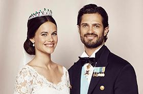 Fülöp Károly herceg Sofia hercegné hivatalos esküvői képek