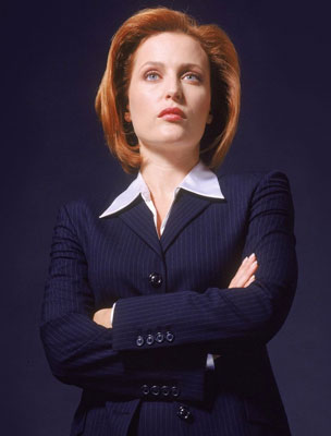 Gillian Anderson egykor