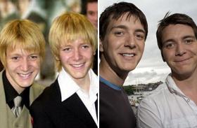 James és Oliver Phelps a Harry Potter sztárjai és további ikrek a sztárvilágból