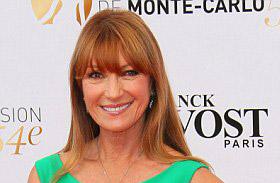 Jane Seymour zöld ruha Monte Carlóban