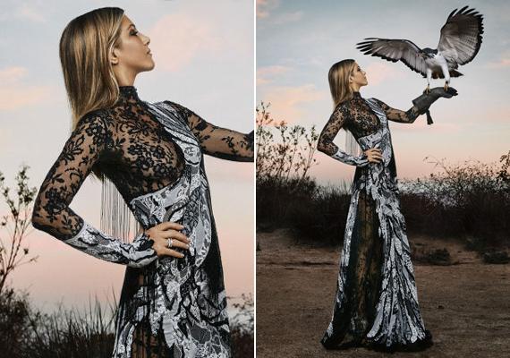 Ki hinné, hogy már 47 éves? Jennifer Aniston elképesztően dögös ezeken a merész fotókon, ráadásul egy sólymot is megszelídít.