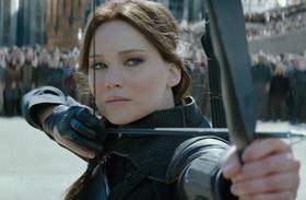 Jennifer Lawrence Az éhezők viadala premierjén
