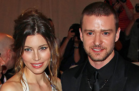 Jessica Biel és Justin Timberlake babafotó