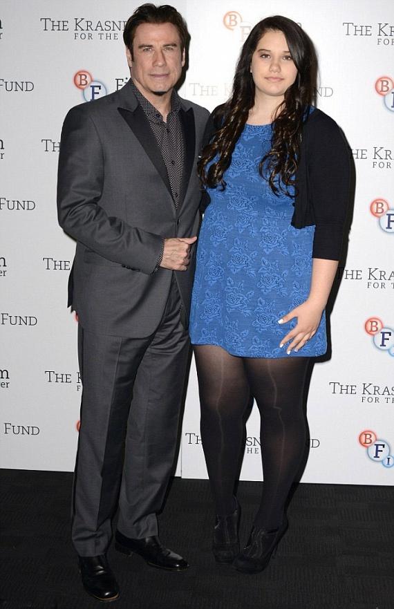 Ő John Travolta ritkán látott lánya - Így hasonlít rá a 16 ...