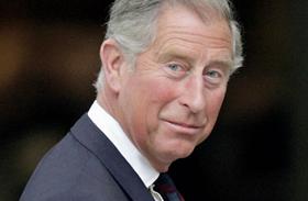 Károly herceg fiatalon