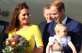Katalin hercegnő György herceg Sydney