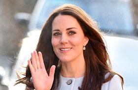 Katalin hercegnő kék kabát