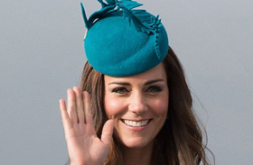 Katalin hercegnő ölelés Új-Zéland
