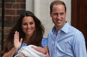 Katalin hercegnő Vilmos herceg baba fotók