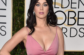 Katy Perry és Orlando Bloom a Golden Globe-on