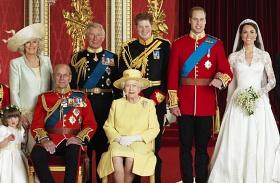 Királyi család karácsonya legó