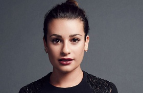 Lea Michele fehérneműs fotó