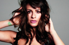 Lea Michele meztelen
