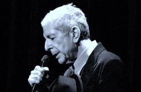 Leonard Cohen fia búcsú