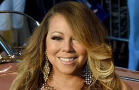 Mariah Carey átlátszóban