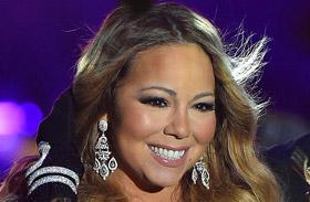 Mariah Carey merész ruhában