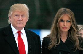 Melania Trump beiktatás után