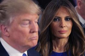 Donald Trump Melania külön hálószoba