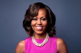 Michelle Obama Erzsébet királynő ebéd