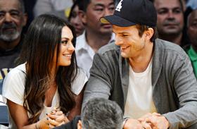 Mila Kunis és Ashton Kutcher nászút