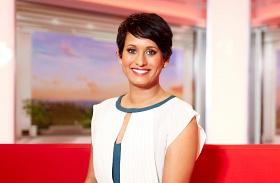 Naga Munchetty BBC műsorvezető zaklatás