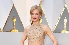Nicole Kidman Oscar-gála tapsolás