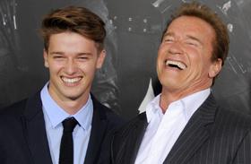 Patrick Schwarzenegger gyúr