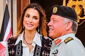 Ránia jordán királyné szép ruhái