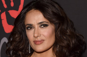 Salma Hayek Diamond Ball