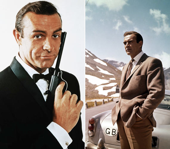 Sean Connery hatszor bújhatott őfelsége sármos titkosügynökének bőrébe, így Roger Moore után, aki hét filmmel vezeti a listát, ő a második.