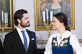 Sofia Hellqvist svéd királyi család Estelle hercegnő képek