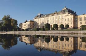 Svéd királyi család közös fotó