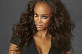 Tyra Banks szűk ruha