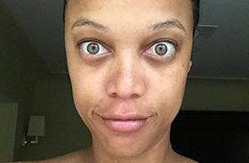 Tyra Banks felismerhetetlen fotó