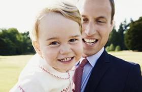 Vilmos herceg és György herceg közötti hasonlóság