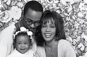 Whitney Houston megható fotók