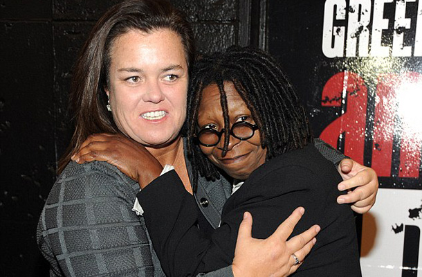 Rosie O'Donnell és Whoopi Goldberg