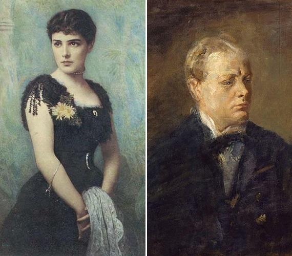 Lady Randolph Churchill (1854-1921)Winston Churchill anyja, lánykori nevén Jeanette Jerome, egy brooklyni születésű milliomos lánya volt. Lady Randolph-ot tehetséges amatőr zongoristának tartották, Chopin egyik barátja tanította zenélni. A későbbi brit miniszterelnök anyjának élete botrányosnak számított, több szeretőjéről tudtak akkoriban, fia nevelésében nem vett részt, aki azt írta róla később, hogy olyan volt számára mint egy üstökös, aki néha feltűnik az égen.Igazi divatikon volt, kora legszebb nőjének tartották. 67 éves korában leesett a lépcsőn egy új magassarkú cipőben, a lábát amputálni kellett, végül az ennek következtében kialakuló vérnérgezébe halt bele.