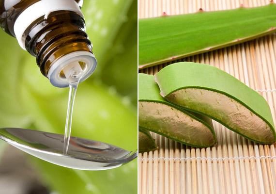 Az aloe vera szinte bármilyen bőrprobléma esetén hatékony gyógyír lehet. Gyulladáscsökkentő vegyületeinek köszönhetően enyhíti a fájdalmas tüneteket. A belőle készült italt, tinktúrát is fogyaszthatod, mivel enyhe hashajtó hatással bír - érdemes belsőleg is alkalmaznod.