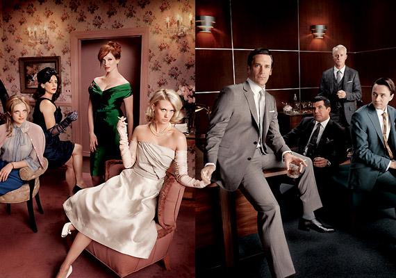 A 2007-ben indult Mad Men - magyar fordításban: Reklámőrültek - című sorozat a hatvanas évek füstölgő New York-jában játszódik. Minden hájjal megkent, fiatal reklámszakemberek életét mutatja be.