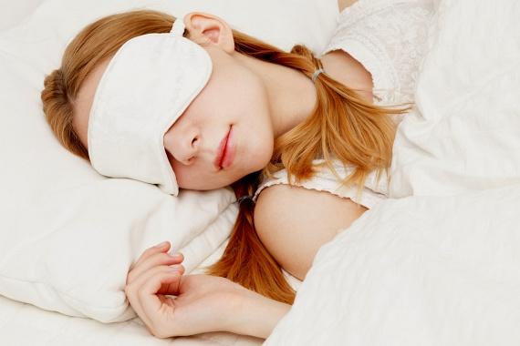 alvásmaszk látás