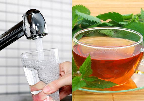 Ami a folyadékbevitelt illeti, sokat spórolhatsz, ha elfelejted a cukros üdítőket - de gyümölcslevekre sem muszáj áldoznod. Helyettük egyszerűen fogyassz koffeinmentes gyógyteákat és csapvizet. Mennyire egészséges a csapvíz Magyarországon? Korábbi cikkünkből megtudhatod!