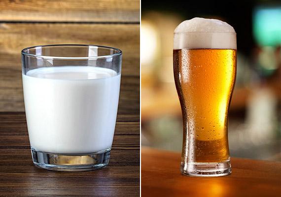 A tej nemcsak a gyerekkori emlékek miatt segíti az éjszakai pihenést. A benne lévő triptofán nevű esszenciális aminosav nyugtató hatással bír. A sör a benne lévő komlónak és az alkoholnak köszönhetően is altató hatással bír - de 2 dl-nél többet nem ajánlott innod belőle lefekvés előtt, mert egyrészt vízhajtó hatással bír, másrészt a nagyobb mennyiségben fogyasztott alkohol összezavarhatja az alvásciklusokat.