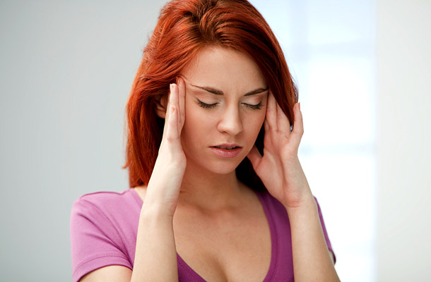 Nyilalló fejfájás egy ponton