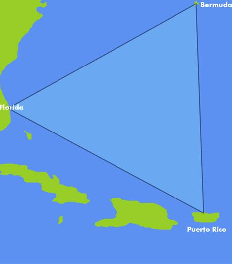 Bermuda-háromszög                         A Világ homlokcsakrájaként a Bermuda-háromszöget szokás emlegetni. A Miami-Puerto Rico és Florida között húzódó háromszög elsősorban veszélyes hurrikánzónaként él a köztudatban, azonban gyógyító erőket is tulajdonítanak neki.                         Kapcsolódó cikk:                         Hátborzongató fotókon a Bermuda-háromszög: így néz ki közelről! »